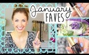 JANUARY FAVORITES || Makeup, Hair, Food & ... ?