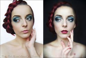My facebook: https://www.facebook.com/pages/Naida-Make-up-and-Artwork/126464104080124 Tutorial: http://www.sminkerica.com/tutoriali/klasicni-i-ekstravagantni-make-up/