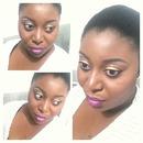 Gold makeup