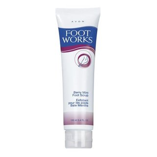Avon Foot Works Berry Mint Scrub