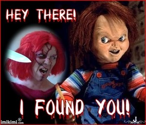 my version of Chucky from Child's Play.