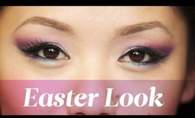 HOW TO: Easter Makeup Look Using the Cut Crease Technique