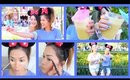 Get Ready With Me ♡ Theme Park Makeup + Outfits! - ThatsHeart