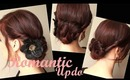 Creative Hairstyles: Romantic Holiday Updo