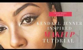 Kendall Jenner Inspired Makeup   imanidoesmakeup