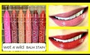 NEW Wet n Wild Lip Balm Stain Review & Demo! Swatches of all 6 colors!
