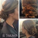 Messy updo for all occasions