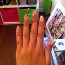 Watercolour Nails