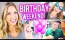 Get Ready with Me || MY BIRTHDAY WEEKEND!!!
