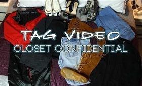 TAG :: Closet Confidential