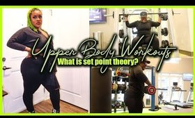 Plus Size Upper Body Workout | Set Point Theory?