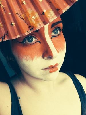 Trial makeup for my makeup class.