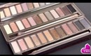 Urban Decay Naked Palette Vs Naked2 Comparison and Swatches