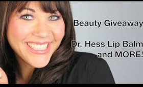 Review and BEAUTY GIVEAWAY Dr. Hess Lip Balm, Vitabath and more!