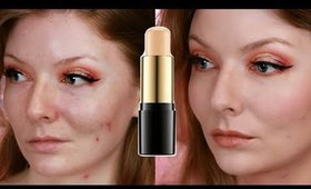 LANCÔME Teint Idole Foundation Stick REVIEW! Pale Oily Skin