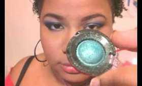 Makeup Tut: Ocean inspired eyes