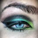 Mermaid green eyes
