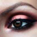 Apricot Smoky Eyes