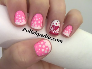 Are you ready?  Watch Our Video Tutorial @ http://www.polishpedia.com/valentines-day-nails.html