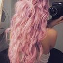 Pink Wavy Hair <3