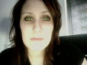 Alt Apparel Theatrical contact lenses. Halloween all the time!