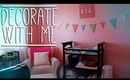 DECORATE WITH ME! - Emery's Room Tour!