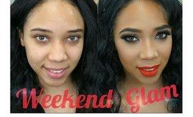 Weekend Glam: Model- Eleshea