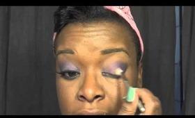 Makeup Tutorial-Kenya Moore RHOA