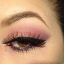 Pink / Purple eye look