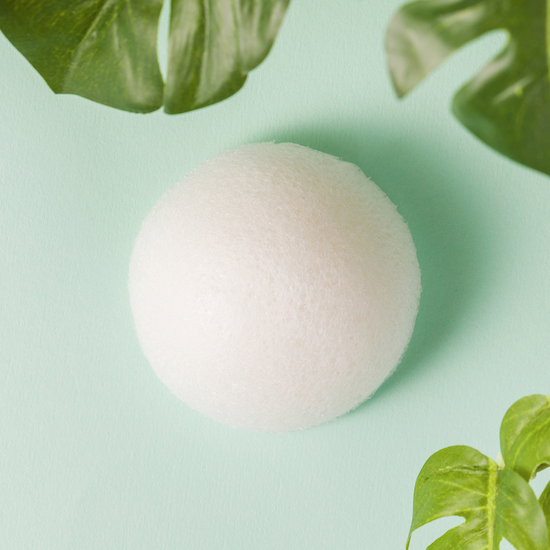 Alternate product image for Konjac Cleansing Sponge shown with the description.