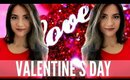 Get Ready With Me |   Valentine's Day 2016 !! Makeup, Hair + Outfit Idea!