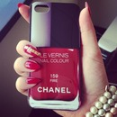 Chanel Nailpolish IPhone 5 case Stiletto nails