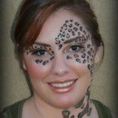 Leopard Diva Makeup look !
