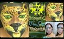 Collab by Nature with BowsAndNails: Leopard Face Paint Tutorial (NoBlandMakeup)