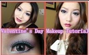 Elegant & Mysterious Valentine's Day Makeup Tutorial - 优雅情人节化妆教程