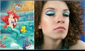 ARIEL - LA SIRENETTA INSPIRED MAKEUP TUTORIAL