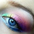 Tie Dye Makeup