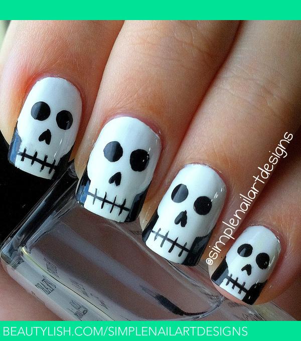 Skull Nail Art: Simplenailartdesigns S.'s