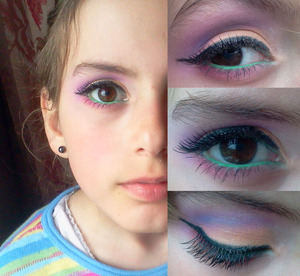 My little sister <3  Her skin is smooth as a baby's butt, she did not wear any foundation, hahah