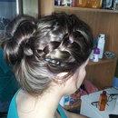 my sisters hair :)