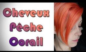 Cheveux Pêches/Corail - Peach/Coral Hair!!!!