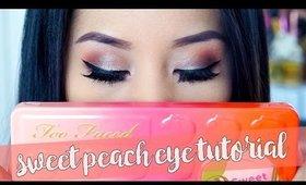 Too Faced Sweet Peach Palette | Eye Makeup Tutorial