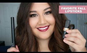 Top 10 Favorite Fall Lipsticks + TRY ON | Meagan Aguayo