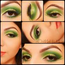 BRIGHT GREEN SPRING LOOK 2014