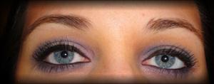 Purple Haze - a soft, smoky eye