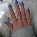 blue stiletto's