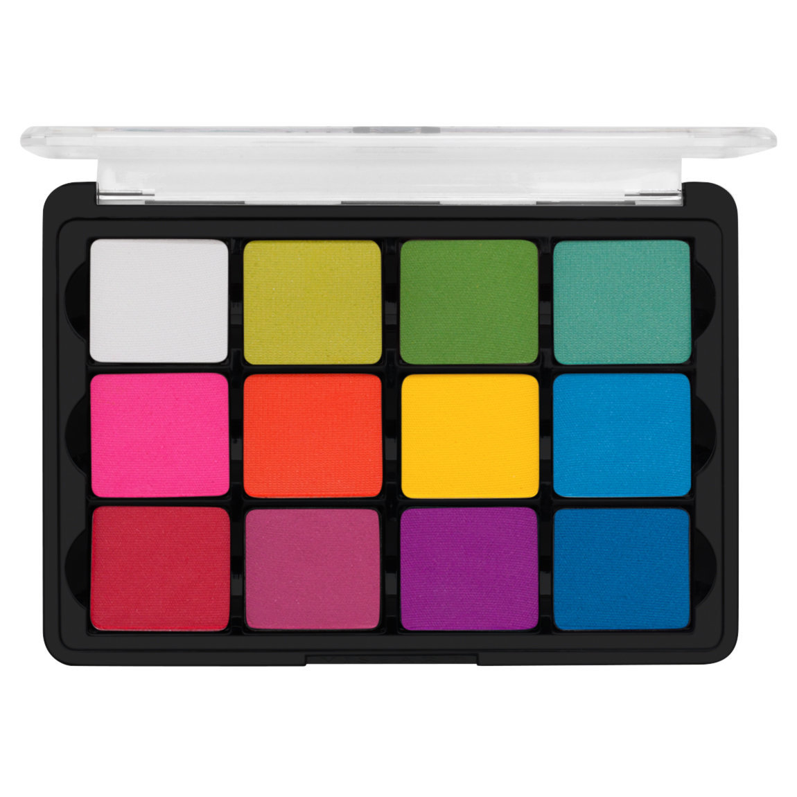 Viseart Eye Shadow Palette 8 Editorial Brights alternative view 1 - product swatch.