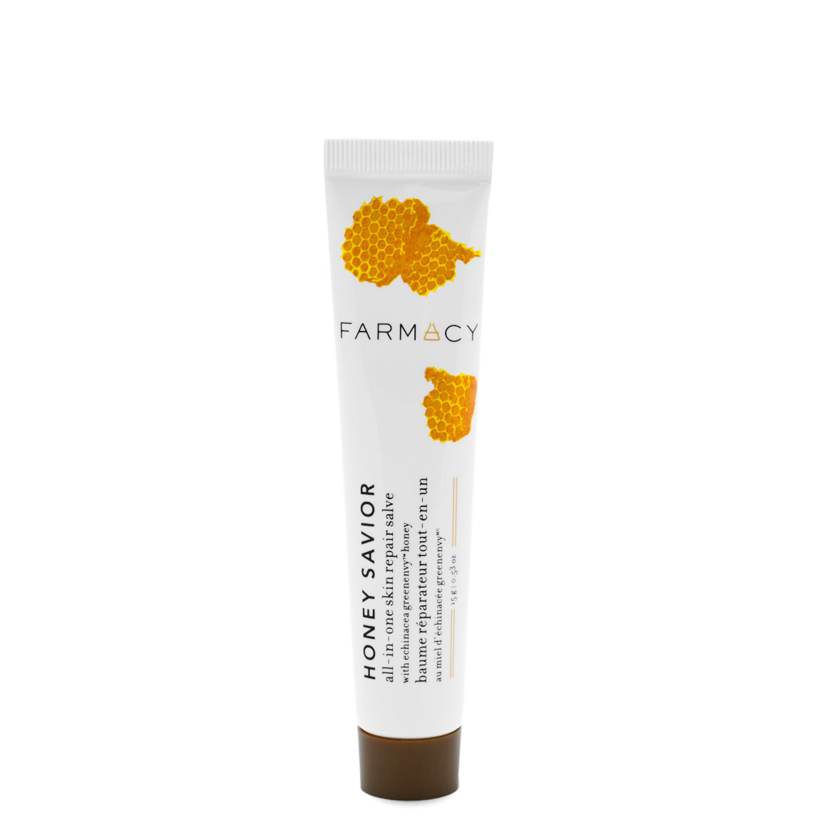 Farmacy Honey Savior All-In-One Skin Repair Salve 0.53 oz product smear.