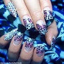 Crystals and animal print