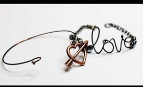 DIY Stackable Bracelet #3: Dainty Wire Bangles